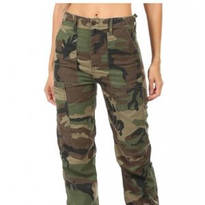 RE/DONE HIGH WAISTED CARGO PANT Size 28
